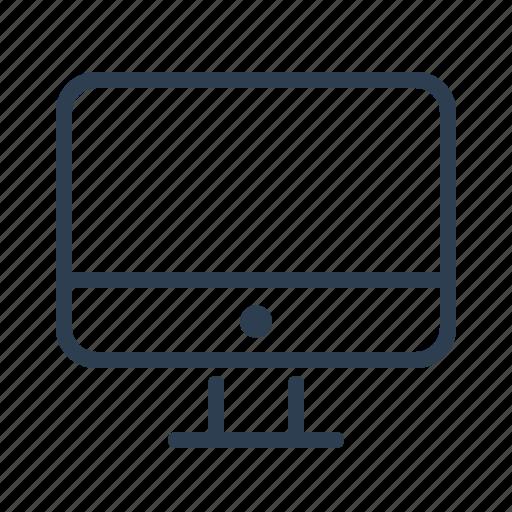 computer, desktop, display, imac, monitor, pc, screen icon