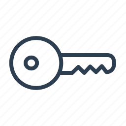 key, lock, password, private, real estate, secure, security icon