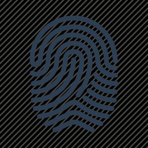 Biometric, fingerprint, identification, scan, security ...