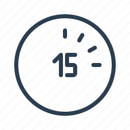 clock, hour, minutes, period, quarter, seconds, time icon