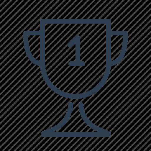 achievement, award, best, cup, prize, trophy, winner icon