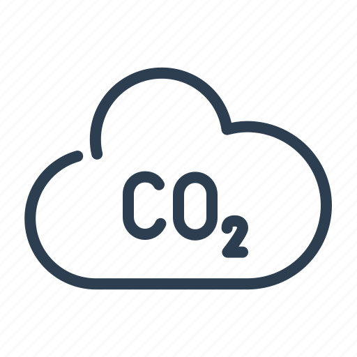 air, carbone dioxide, cloud, co2, disaster, ecology, pollution icon