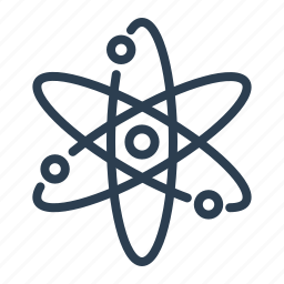 atom, atomic, chemistry, electron, molecule, physics, science icon