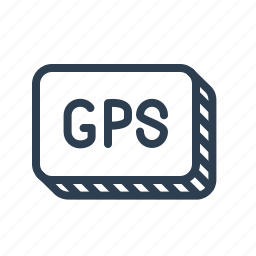 gps, locate, location, navigate, navigation, technology, tracker icon