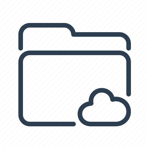cloud, documents, files, folder, share, sharing, storage icon
