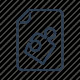 app, application, document, file, plugin, puzzle, solution icon