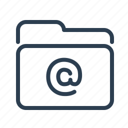 directory, email, folder, letter, mail, post, subscribtion icon