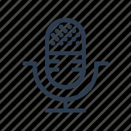 communication, mic, microphone, siri, speaker, speech, talk icon