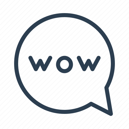 chat, chatting, comment, message bubble, round, talk, wow icon