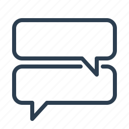 chat, chatting, comment, communication, message bubble, messaging, talk icon