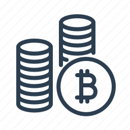 bitcoins, cash, coins, currency, money, payment, virtual icon