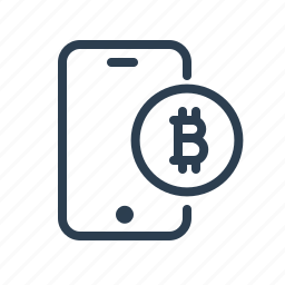 bitcoin, buy, coin, mobile banking, mobile payment, pay, service icon