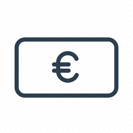 banknote, cash, cashout, currency, euro, finance, money icon