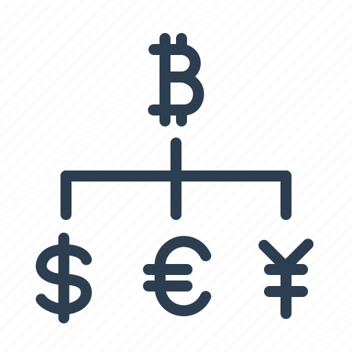 bitcoin, conversion, currency exchange, dollar, euro, money, pound icon