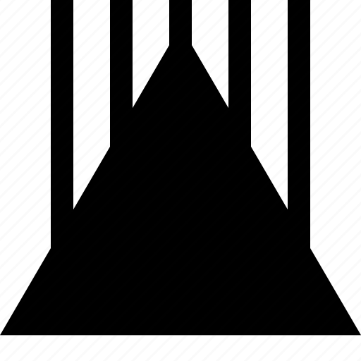 arrow, egypt, iluminati, triangle icon