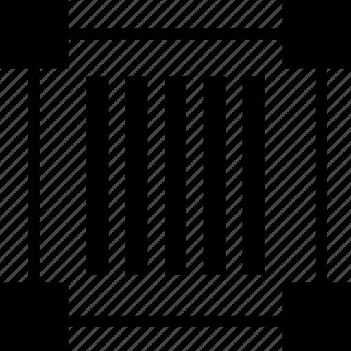barcode, code, design, edit icon