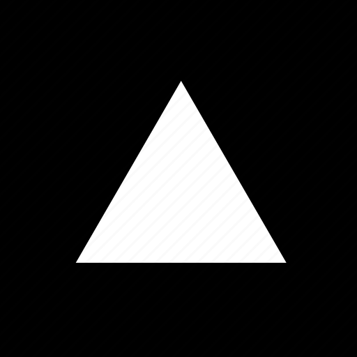 abstract, playstation, sign, triangle icon