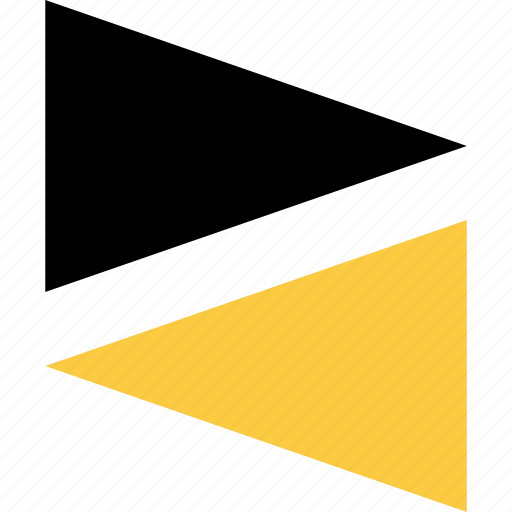abstract, creative, lay, triangle, triangles icon