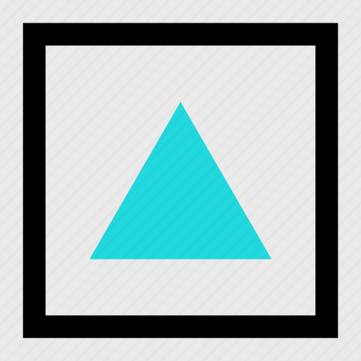 abstract, creative, point, shape, up icon