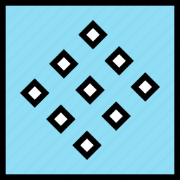 abstract, creative, cube, design, squares icon
