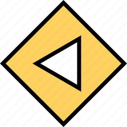 abstract, arrow, creative, poing, pointer, right icon