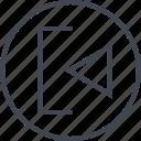 abstract, back, create, creative, design, designed, left icon