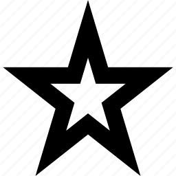 abstract, favorite, sign, star icon