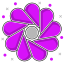 abstraction, leaves, environmental, shape, flower, abstract ecology icon