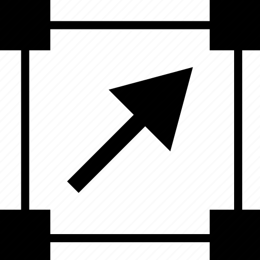 abstract, arrow, edit, shape icon