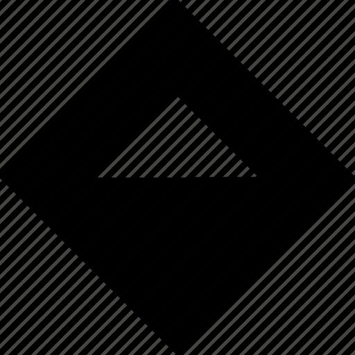abstract, hexagon, top icon