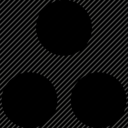 create, just, spots, three icon