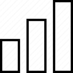 abstract, bars, sign, up icon