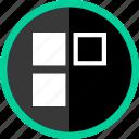 crazy, edge, puzzle, shape icon