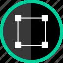 creative, designed, puzzle, shape icon