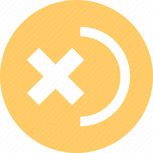 abstract, creative, cross, curve, delete, design icon