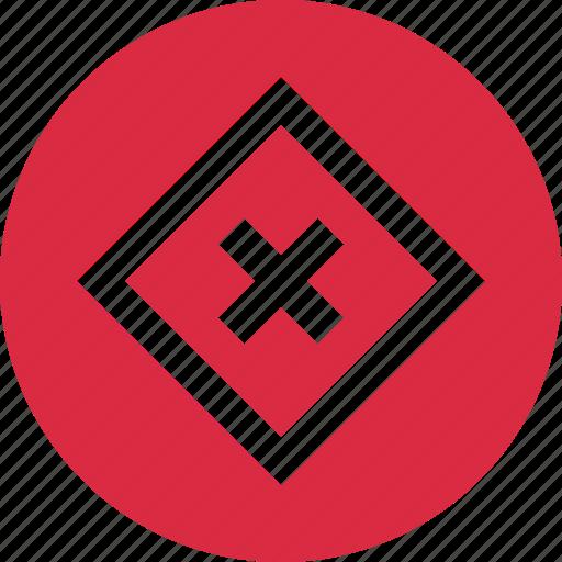 abstract, creative, delete, design, eye, stop icon