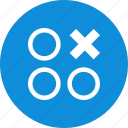abstract, creative, cross, design, one, thre icon