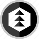 abstract, art, creative, designed, edgy, online icon