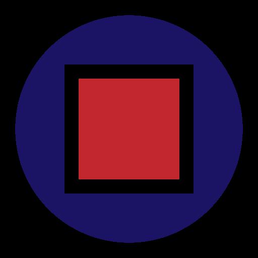 abstract, basic, geometric, shape, square icon