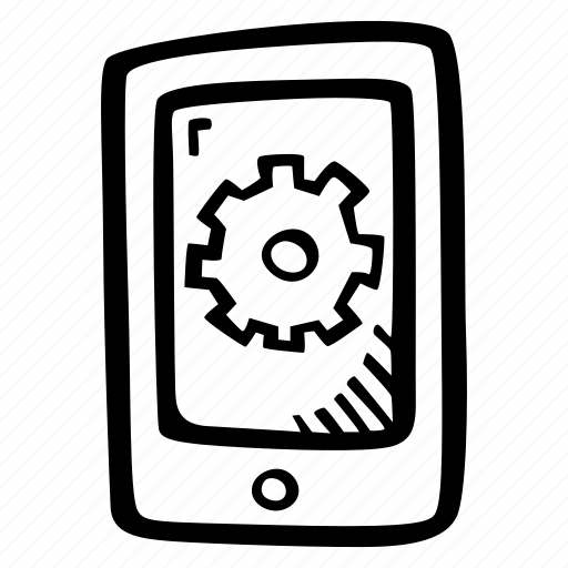app, development, mobile device, mobile phone, options icon
