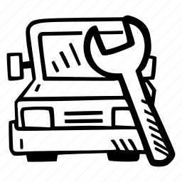 auto, mechanic, repair, repair shop, service icon