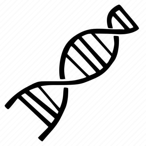 antropology, biology, dna, science icon