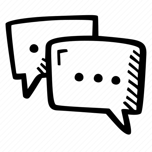 chat, communication, dialog, skills, text icon