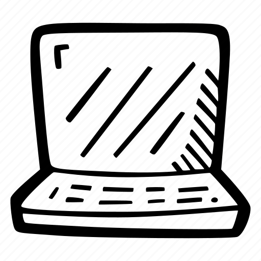 computer, laptop, notebook, science icon