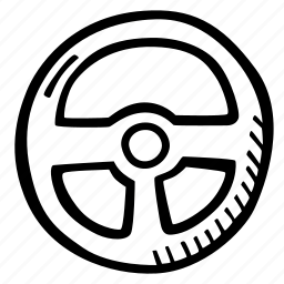 auto, driver, driving, driving wheel, vechicle icon