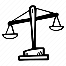 attorney, balance, balance scales, court, justice, law, scale icon