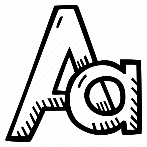 letter, lettering, letters, literacy, type, typography icon