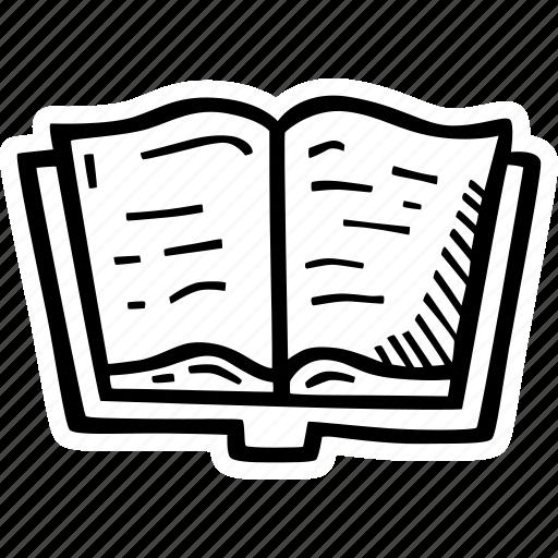 book, literature, reading, writer, writing icon