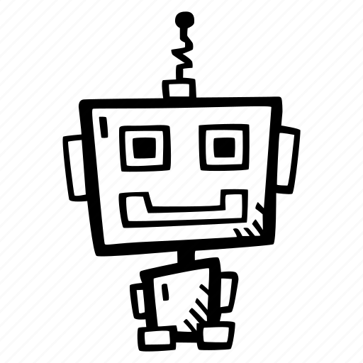 programming, robot, robotics icon