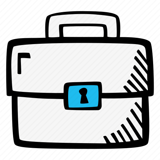 briefcase, business, case, dressing-case icon